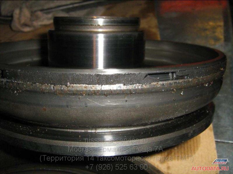 Внешний поршень и износ уплотнительного кольца